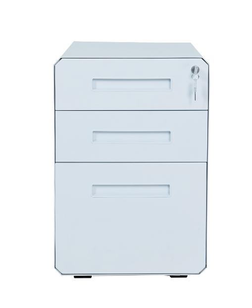 办公用办公设备文件柜带脚轮移动金属柜