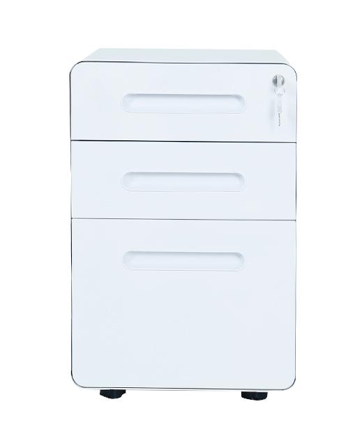 办公家具行业金属白色小百叶金属柜
