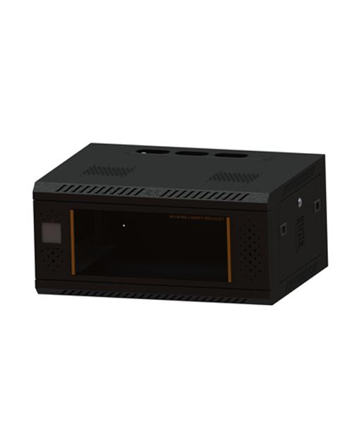 网络机柜1 278600450 450感应锁玻璃-黑色