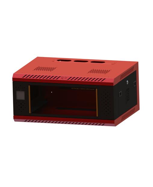 网络机柜2 278600450感应锁玻璃红色