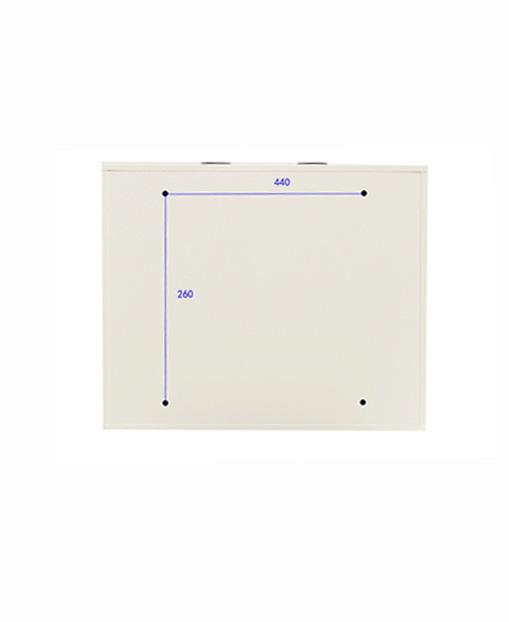 2U小型机架服务器壁挂式防水网络柜家用